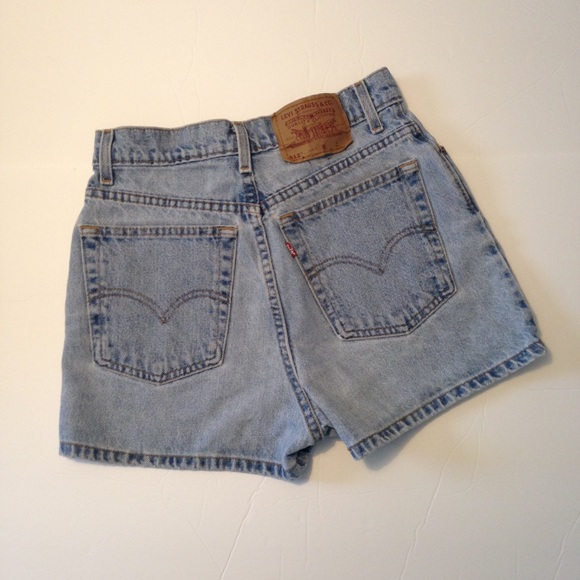 c3c7876604 Levi's Shorts | Vintage Levis 512 High Waisted Slim Fit | Poshmark